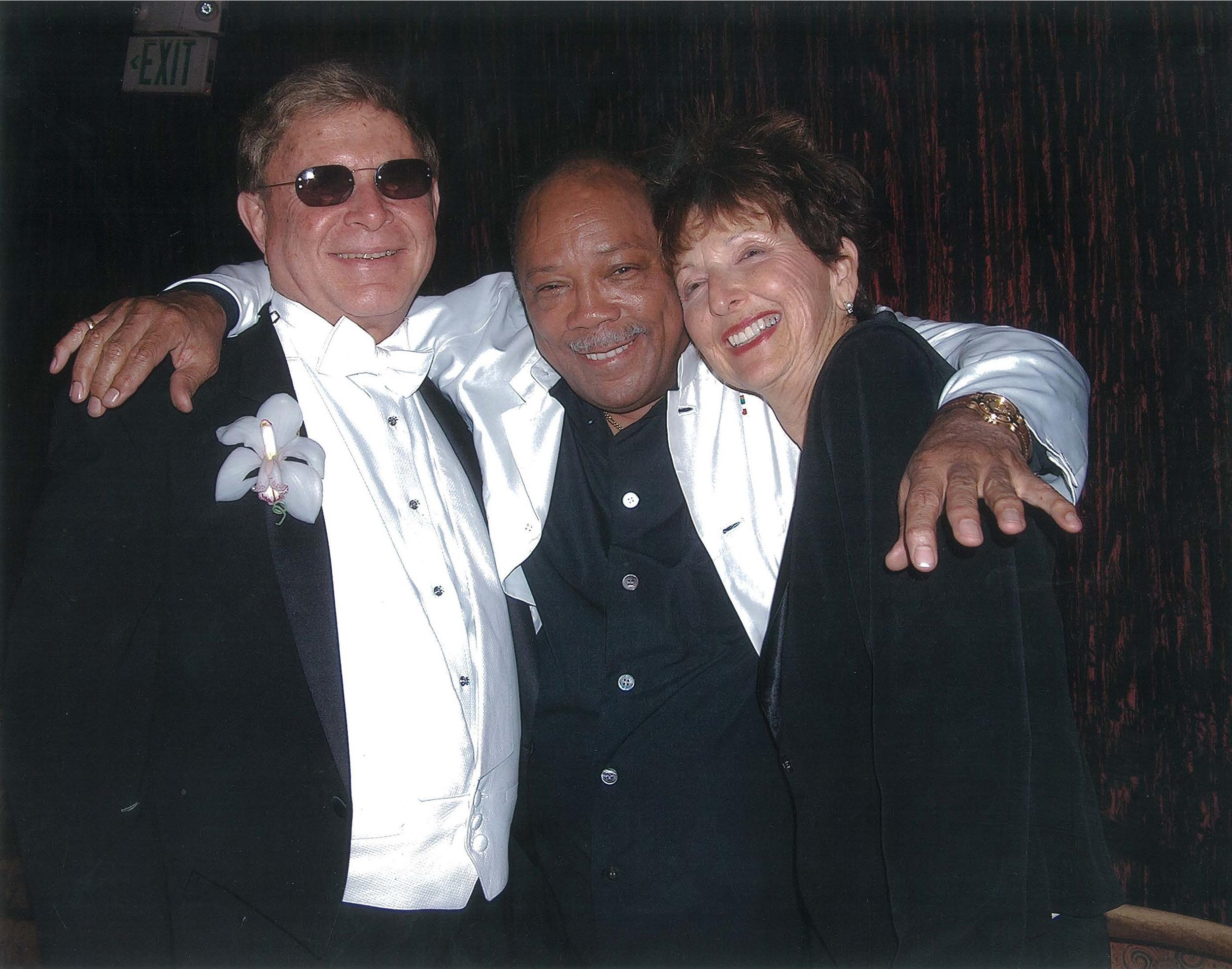 Wayne and Marin Foster with Quincy Jones.jpg