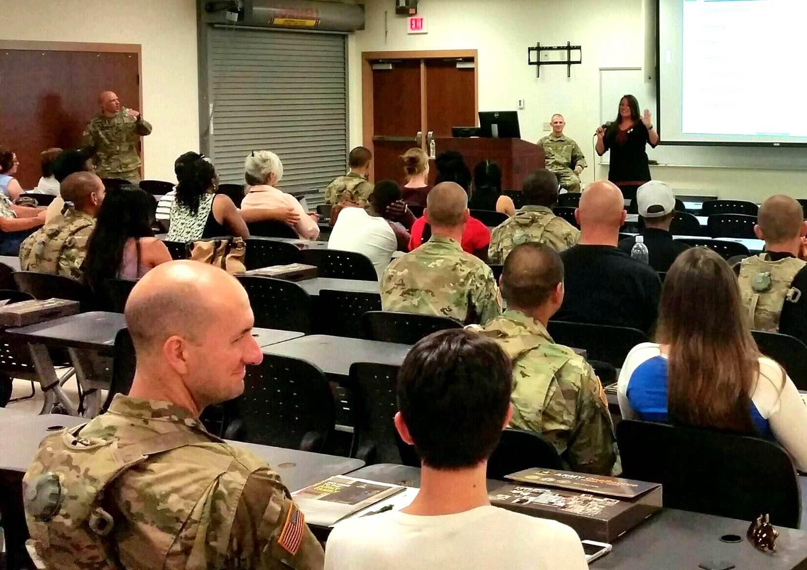 """Spouse Orientation 2-47 Infantry Regiment 'Get Connected"""""""