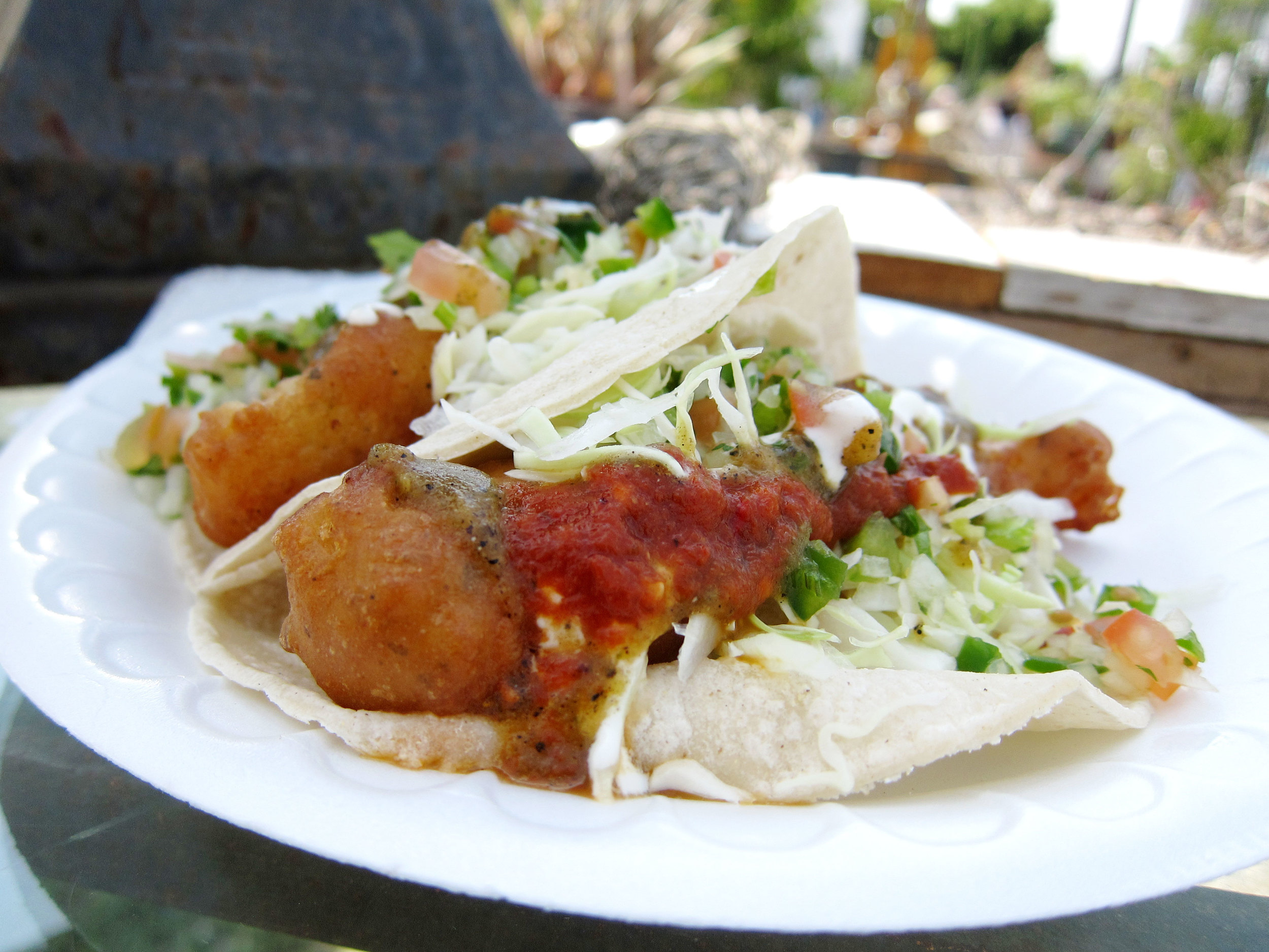 Hungry? Easy. That'll be Fish Tacos for lunch. Obviously. Image via  The Food Ledger