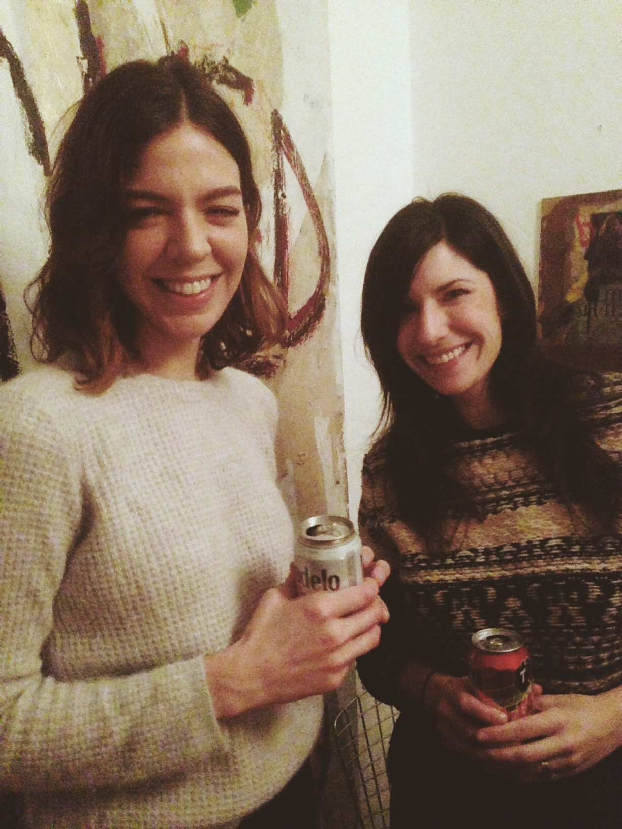 Hot girls, check, winter jumpers, check, Mexican beer, check.