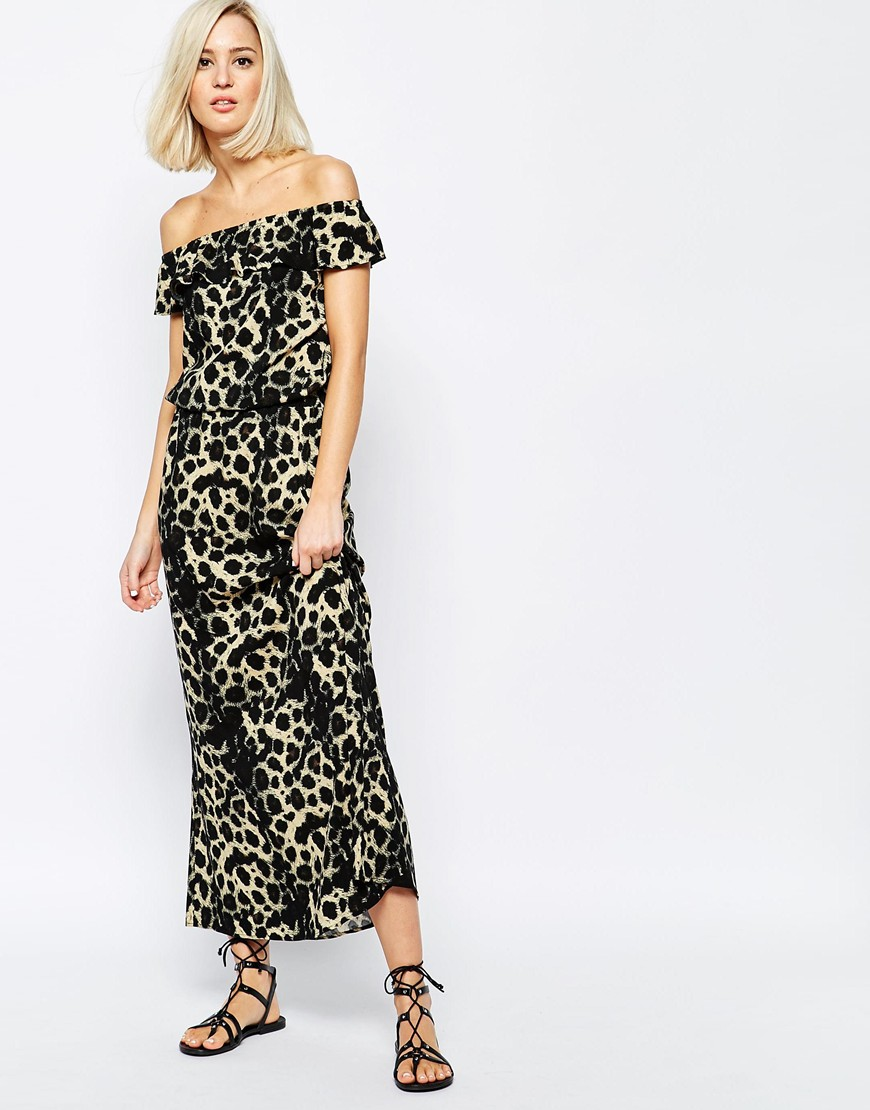 Vero Moda Leopard Print Dress From Asos.com