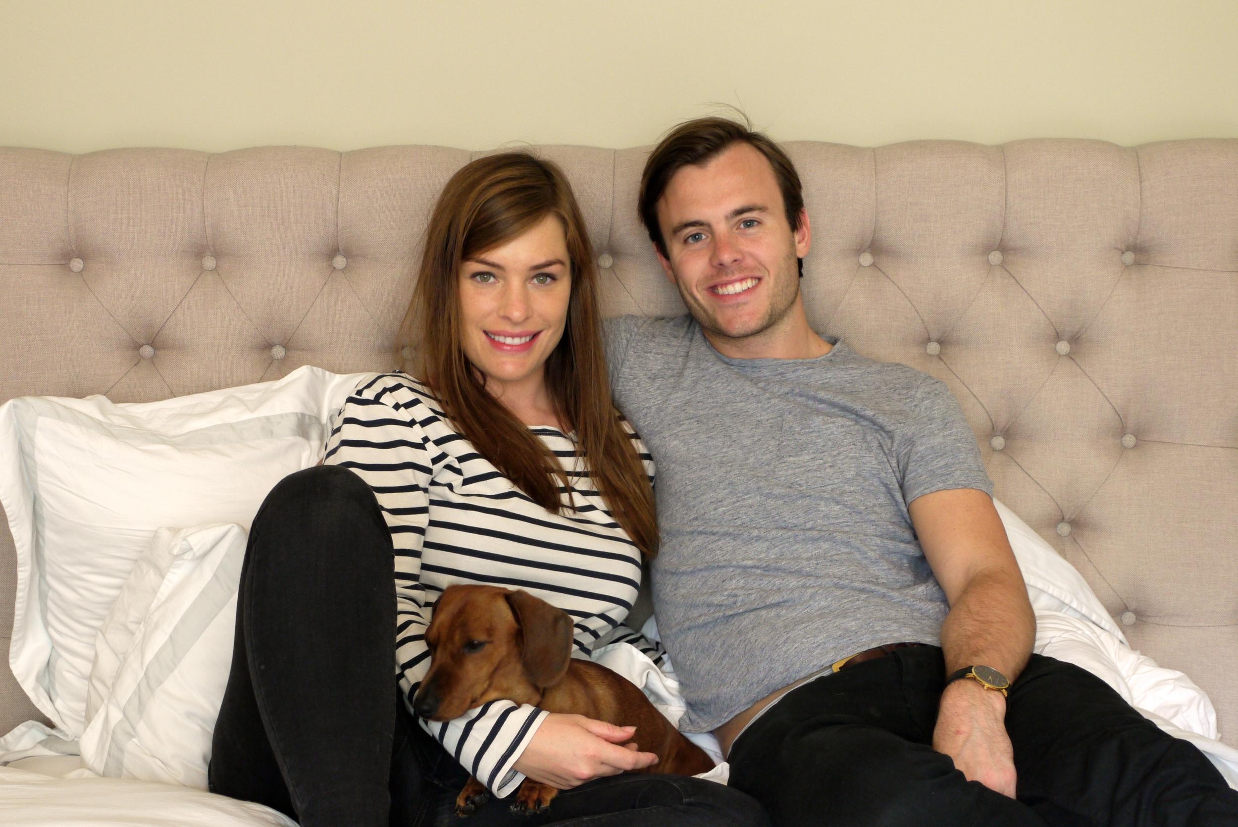 Sarah and Jack Spencer-Ashworth
