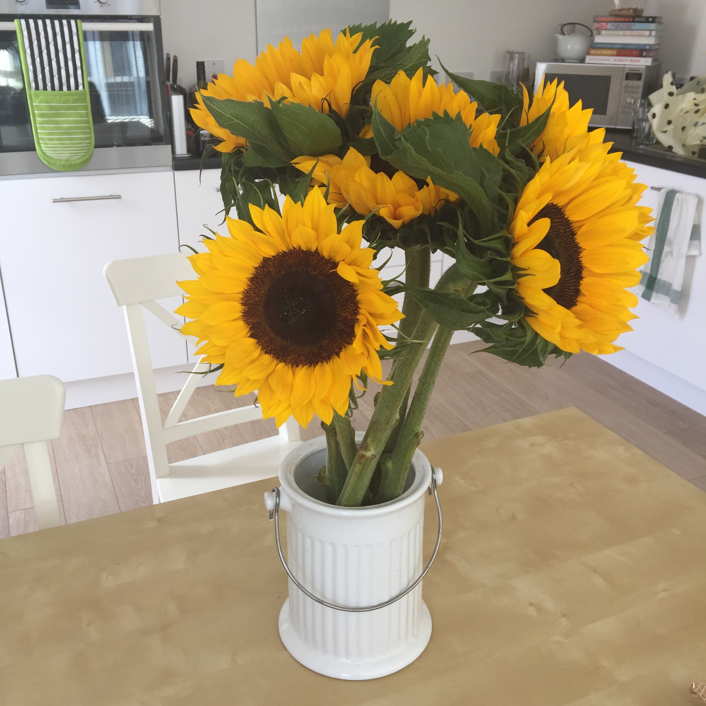 sunflowers in Hackney, The Street Where You Live