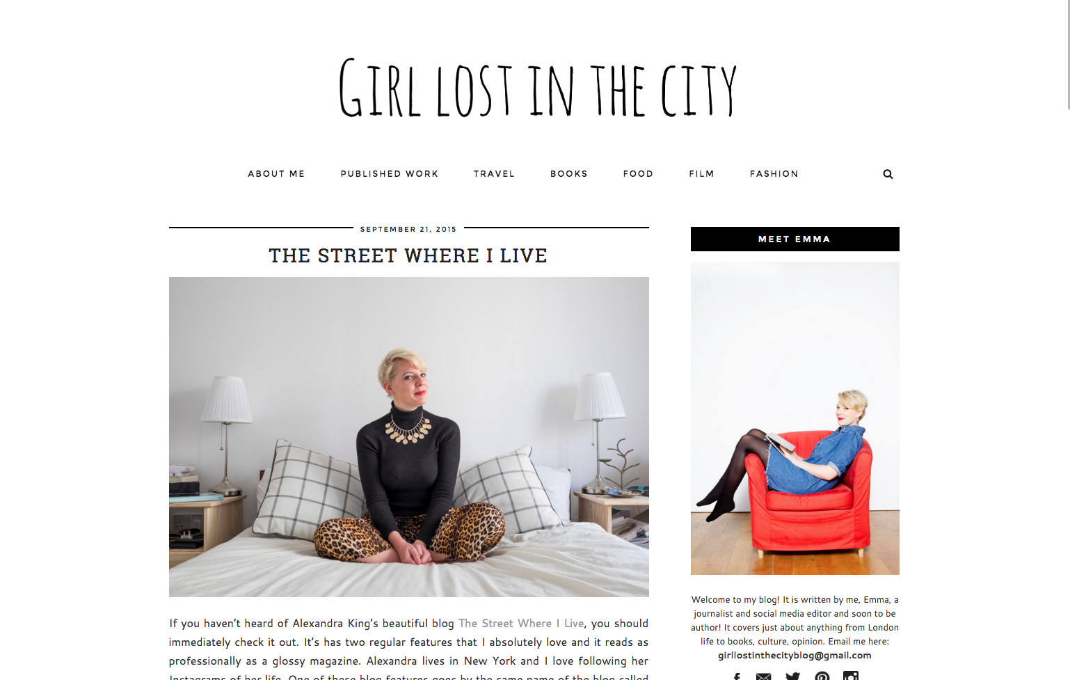 girl lost in the city TSWIL