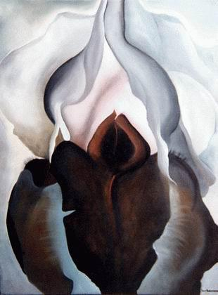 Black Iris III by Georgie O'Keeffe