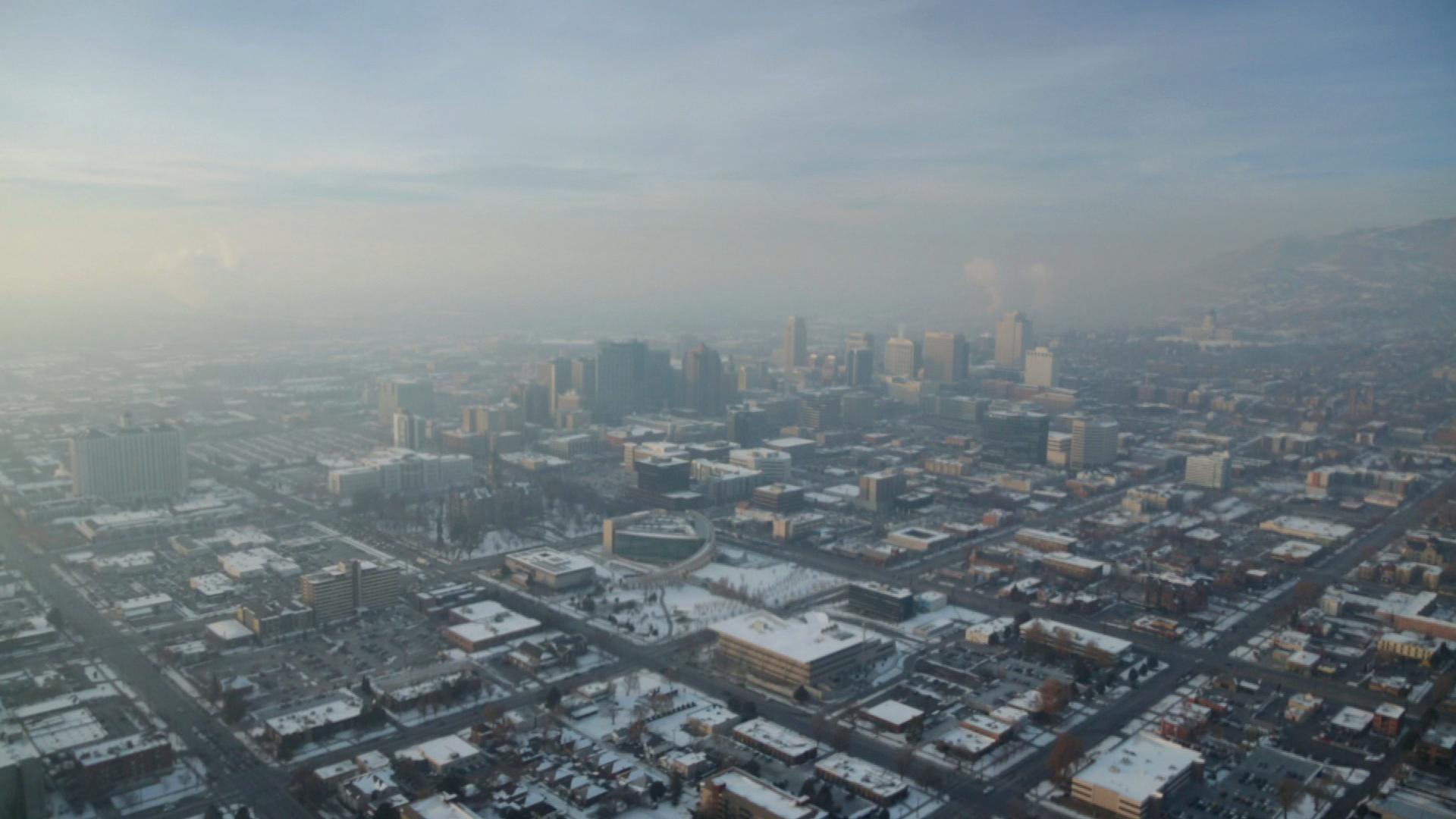 utah winter inversion