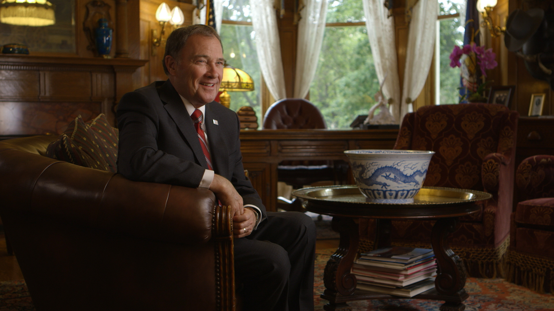 An interview with Gary Herbert, the current Governor of Utah