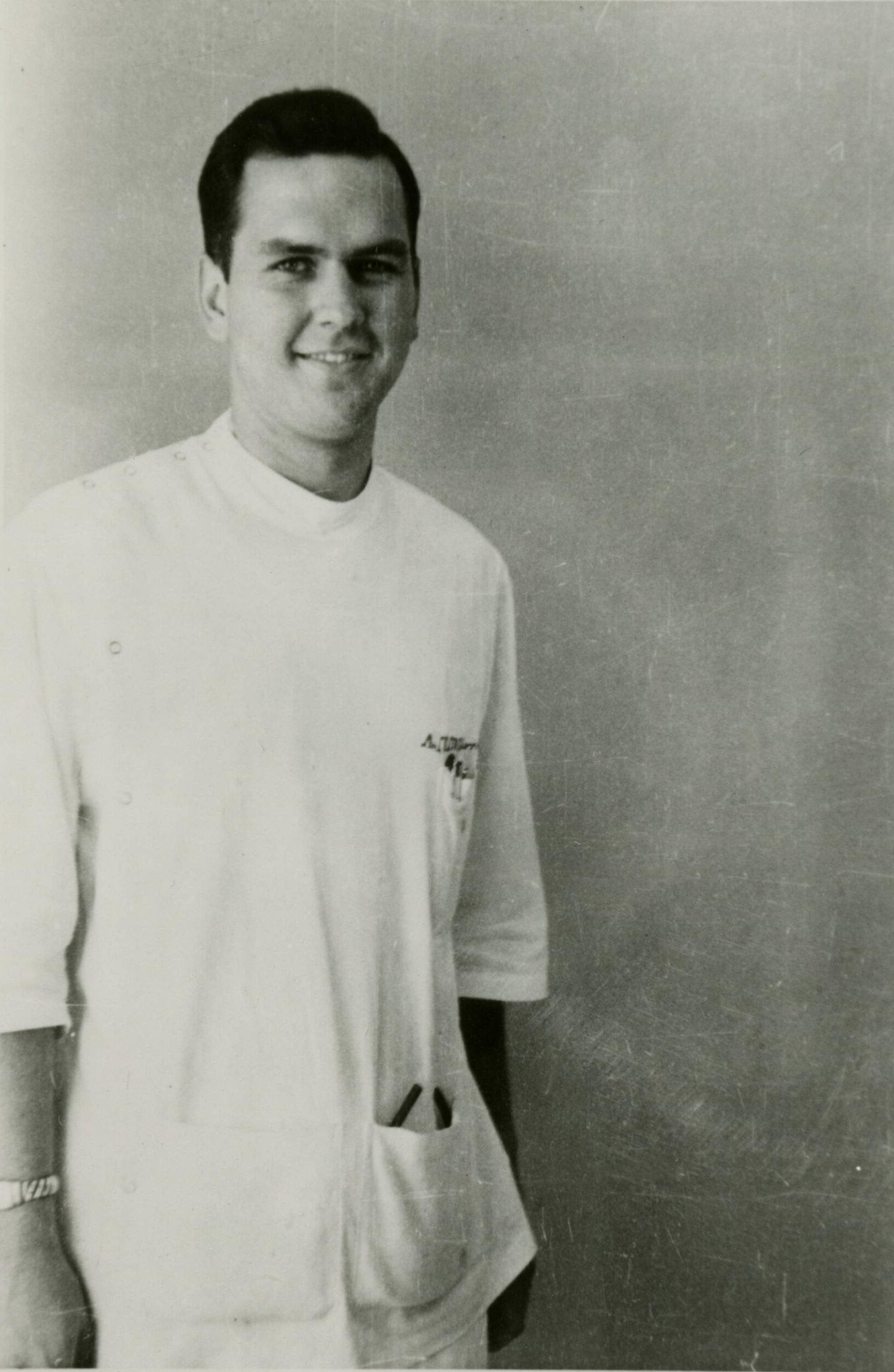 Nelson studying at the University of Minnesota. Image courtesy University of Minnesota Archives.