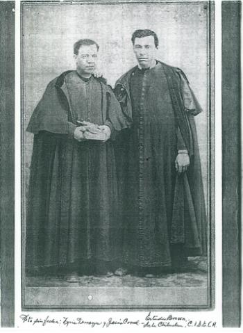 P.P. Luis Terrazas y Jesús Corral.