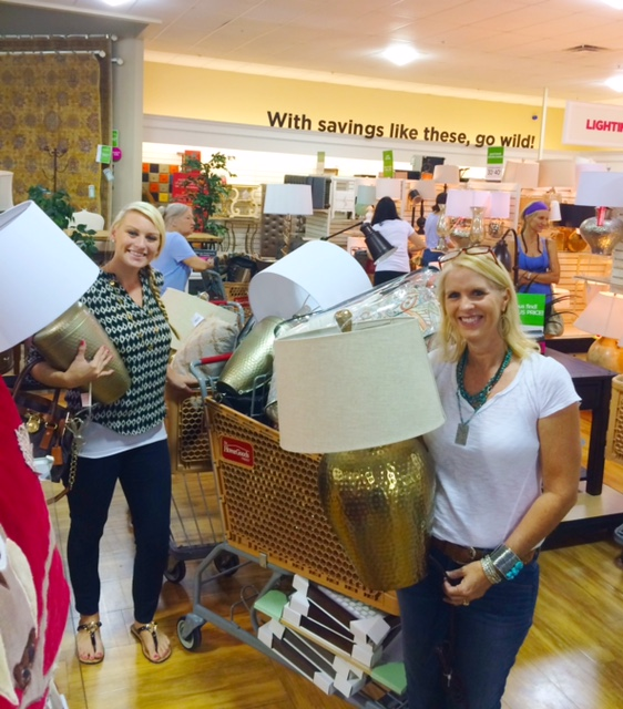 via Decorator Girl - A Typical Shopping Trip with Two Carts!