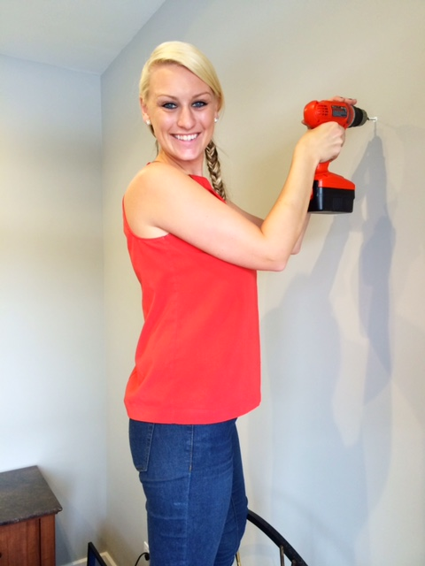 via Decorator Girl - Melissa Playing with her Power Tools