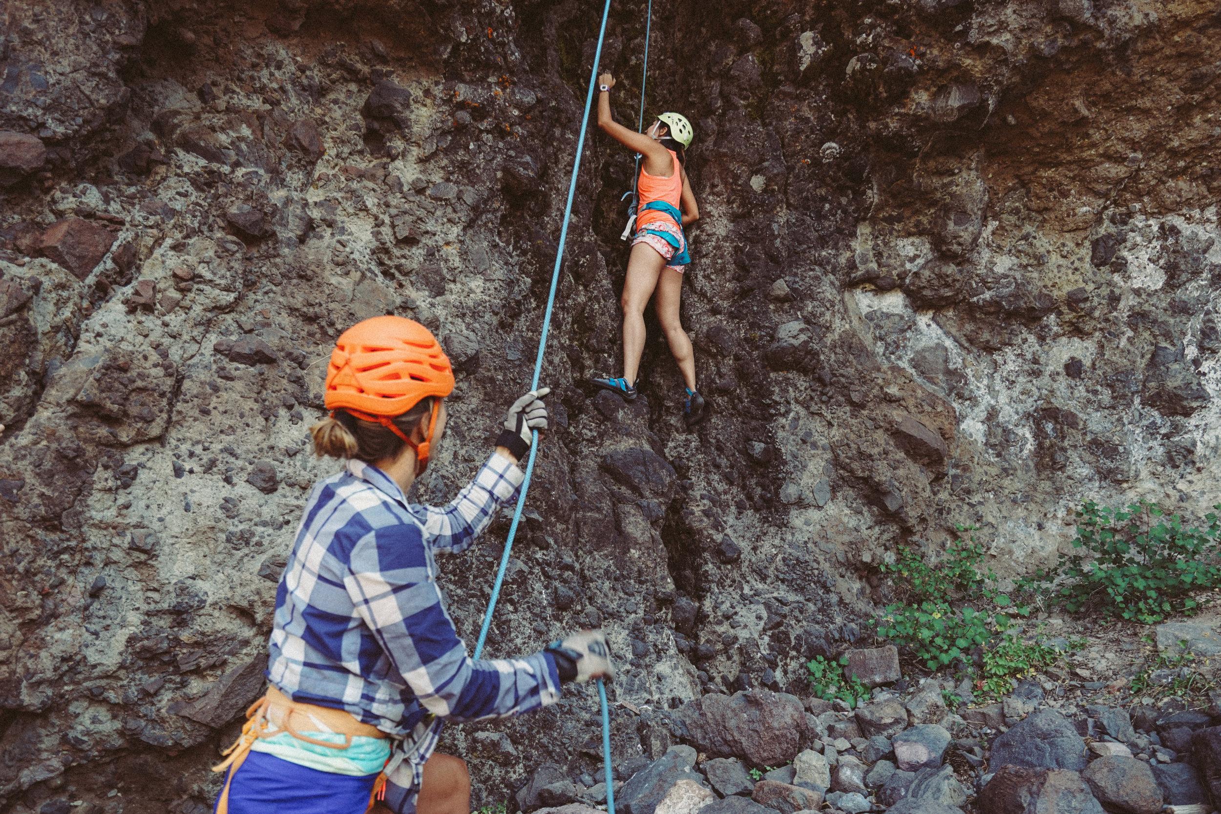 Kirkwood 2016 / Learning to Rock Climb