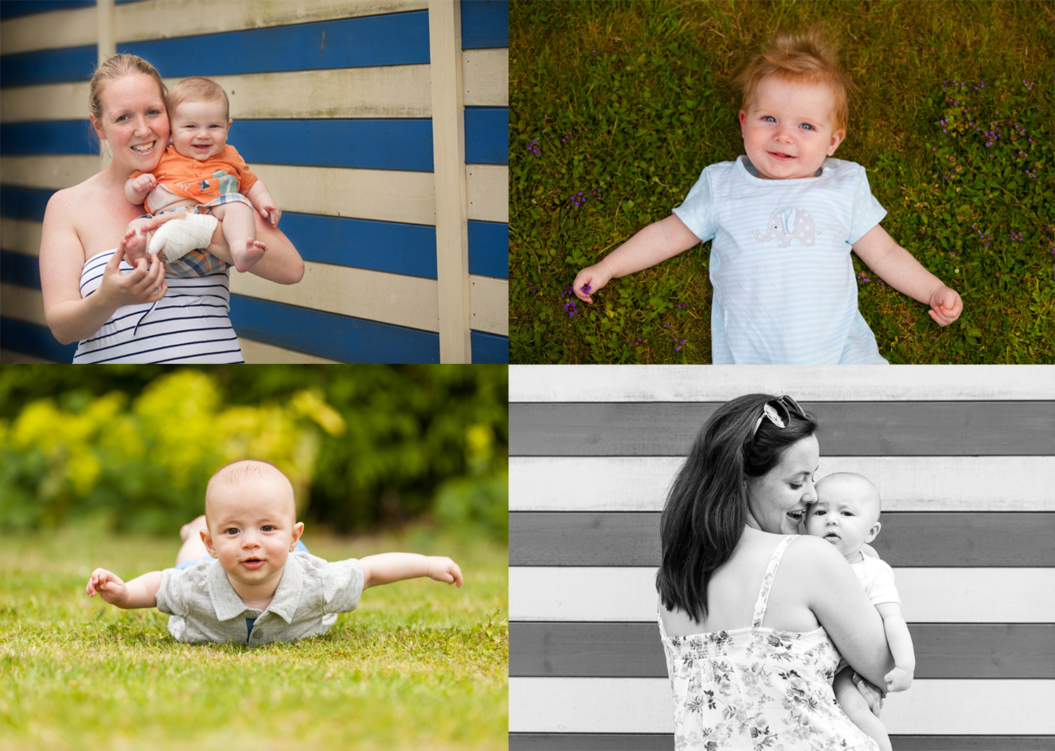 The gorgeous mums and bubbas from a Berkhamsted NCT group photoshoot