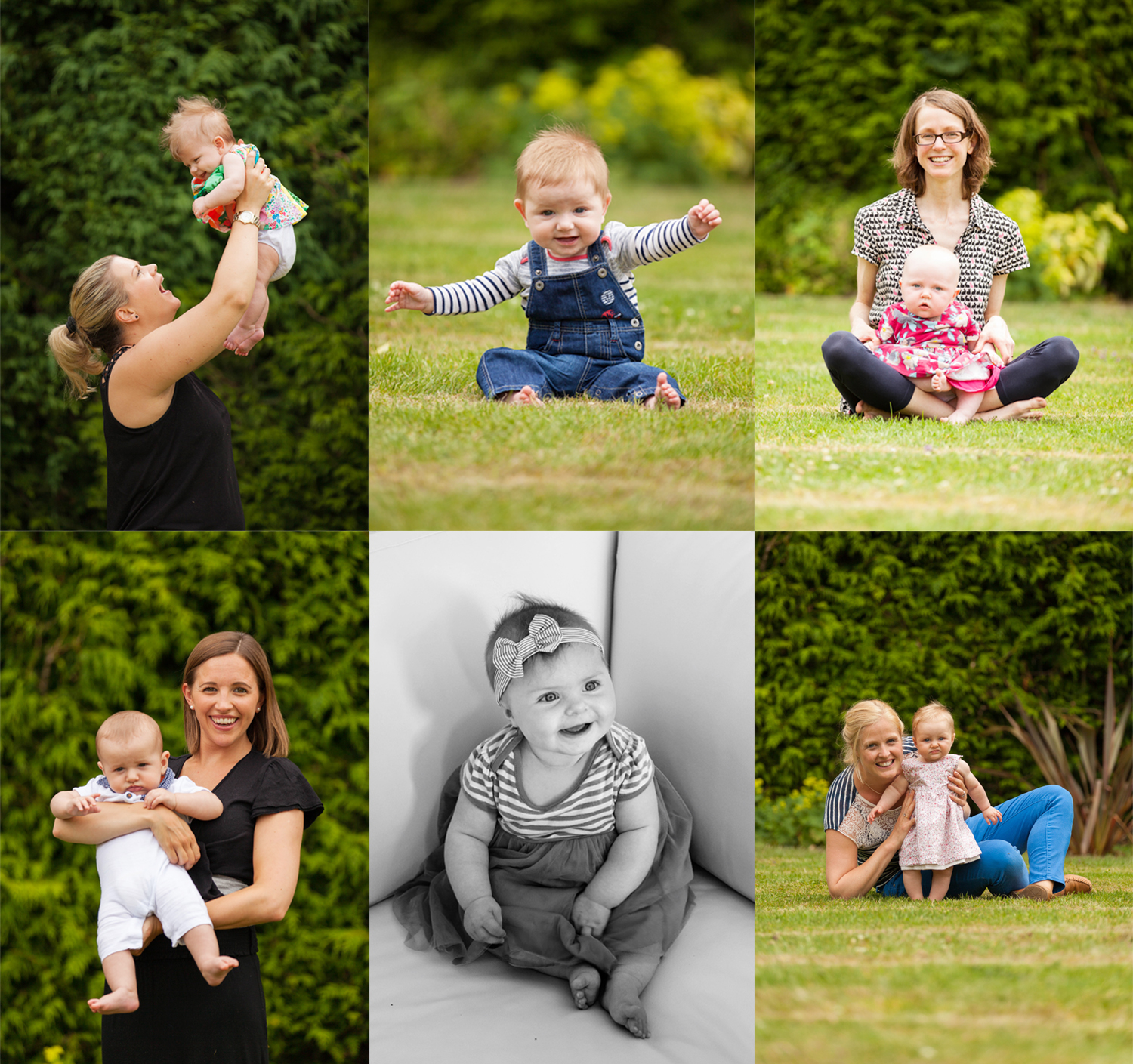 The gorgeous mums and bubbas from a recent Berhamsted NCT group photoshoot