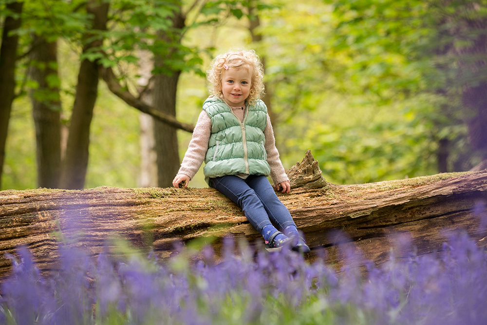 Outdoor photoshoots - For a location, or outdoor shoot, we'll get outside into the beautiful countryside surrounding Berkhamsted and Tring, in Ashridge Forest, at a local park or landmark. We're so lucky in this part of the country and spoilt for gorgeous outdoor locations. Autumn is a popular time for a woodland shoots, as is April and May when the Bluebell woods come to life. If your children are old enough, the light in the evening just before sunset (which we photographers call golden hour) makes for really beautiful photographs. Many people prefer location photoshoots as they feel it is more relaxed and they like the 'natural' look of the photographs.For more outdoor example see below.