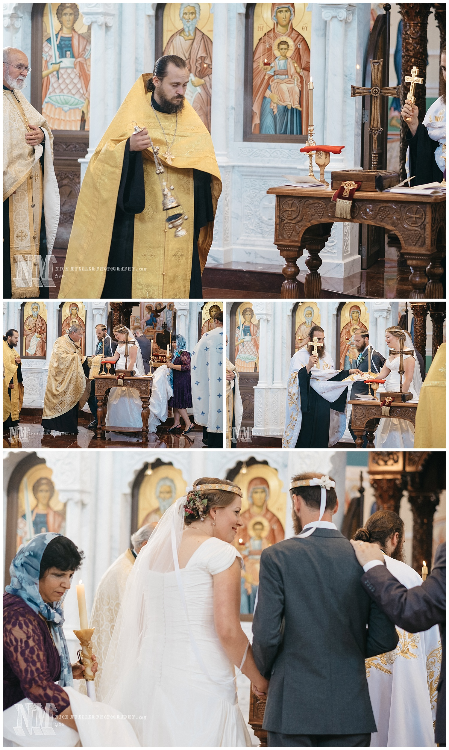 Dance of Isaiah at the Alter