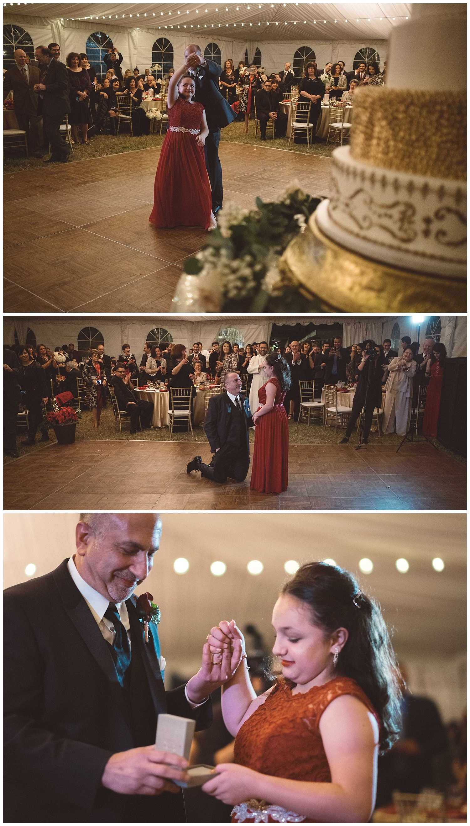 Groom dancing with Step-Daughter