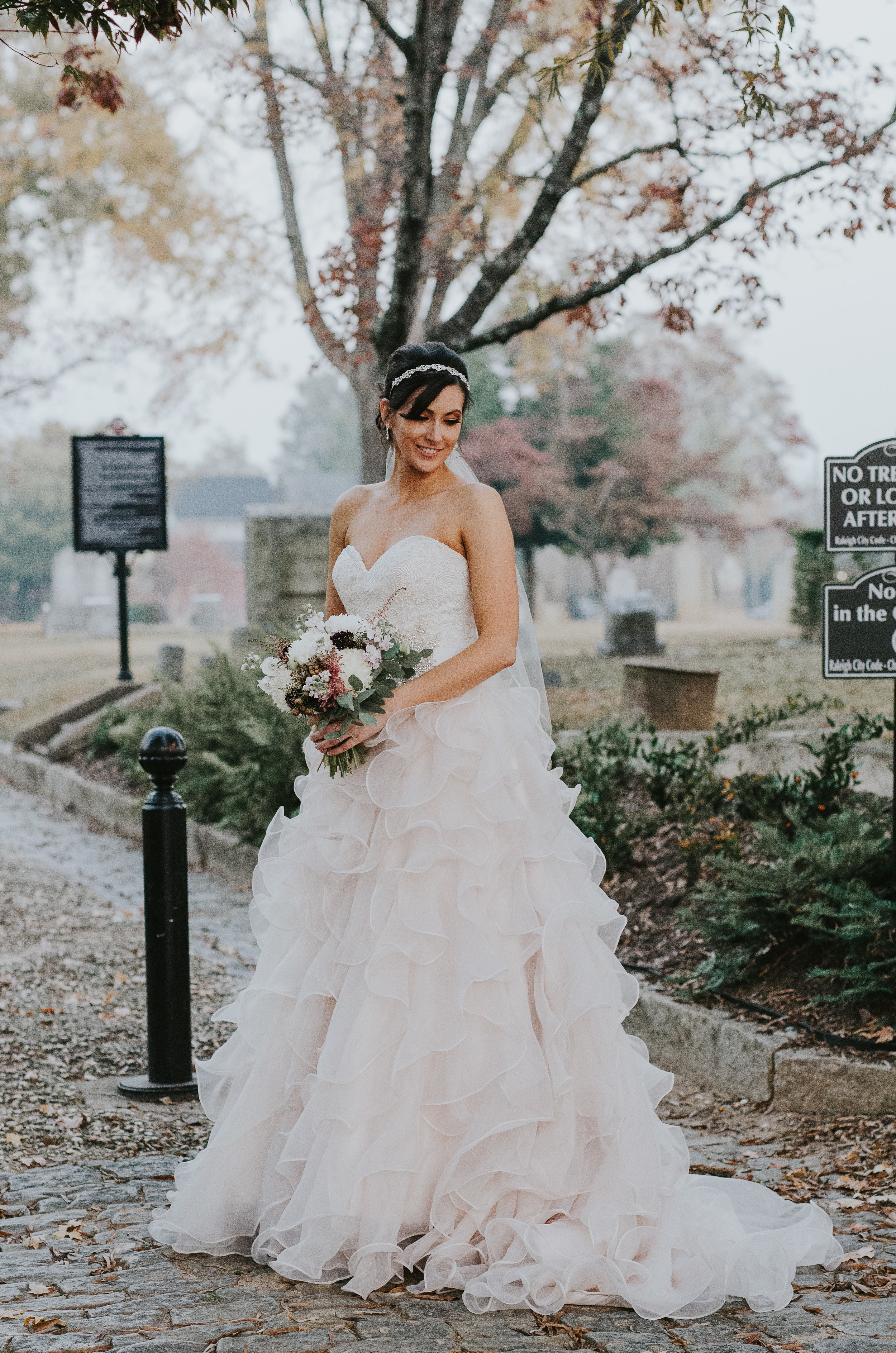Raleigh bridal photography