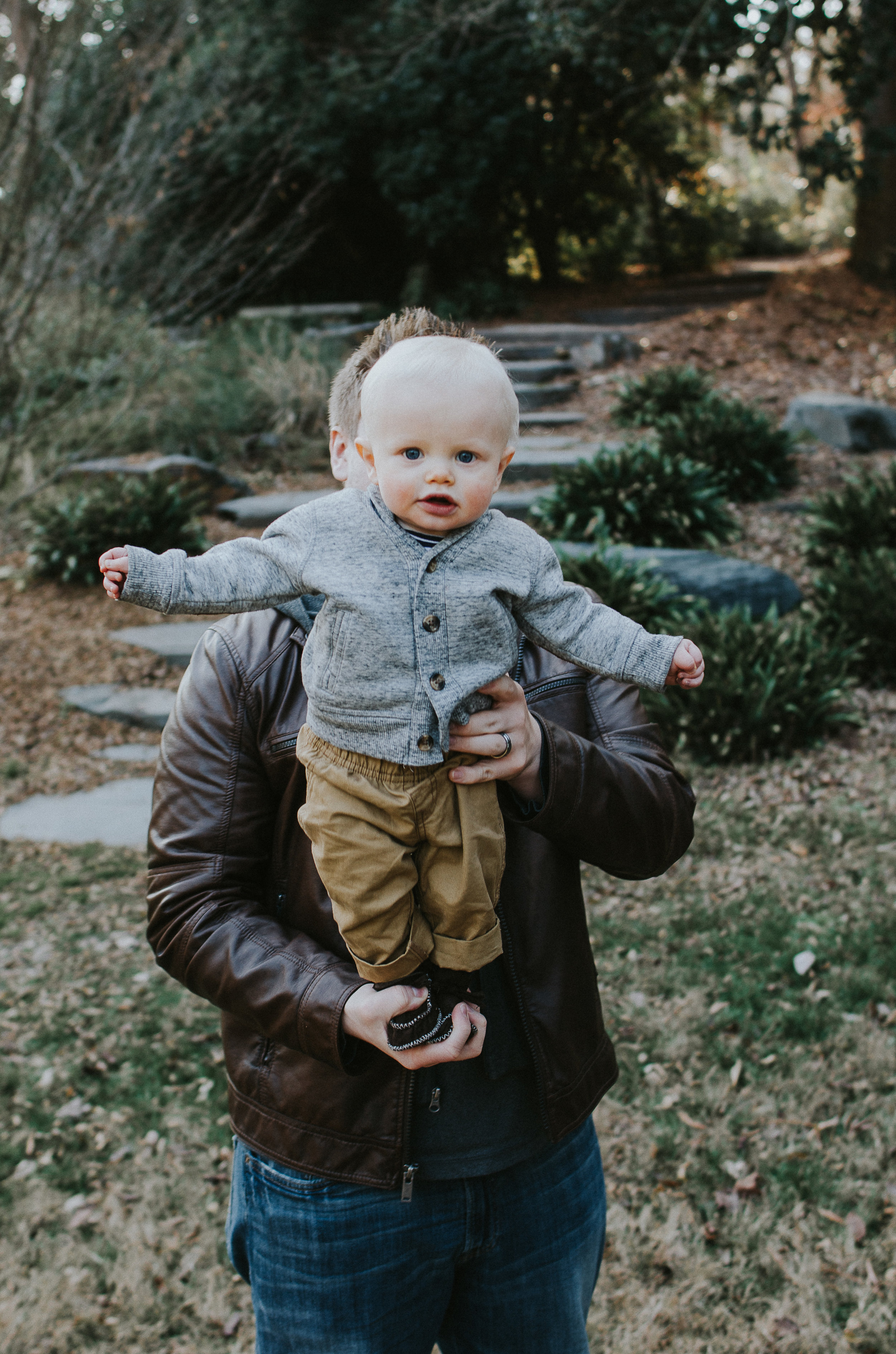 Duke Garden family portrait session.  Arianna Belle Photography is a North Carolina and Virginia based lifestyle photographer.  Affordable photographer in your area