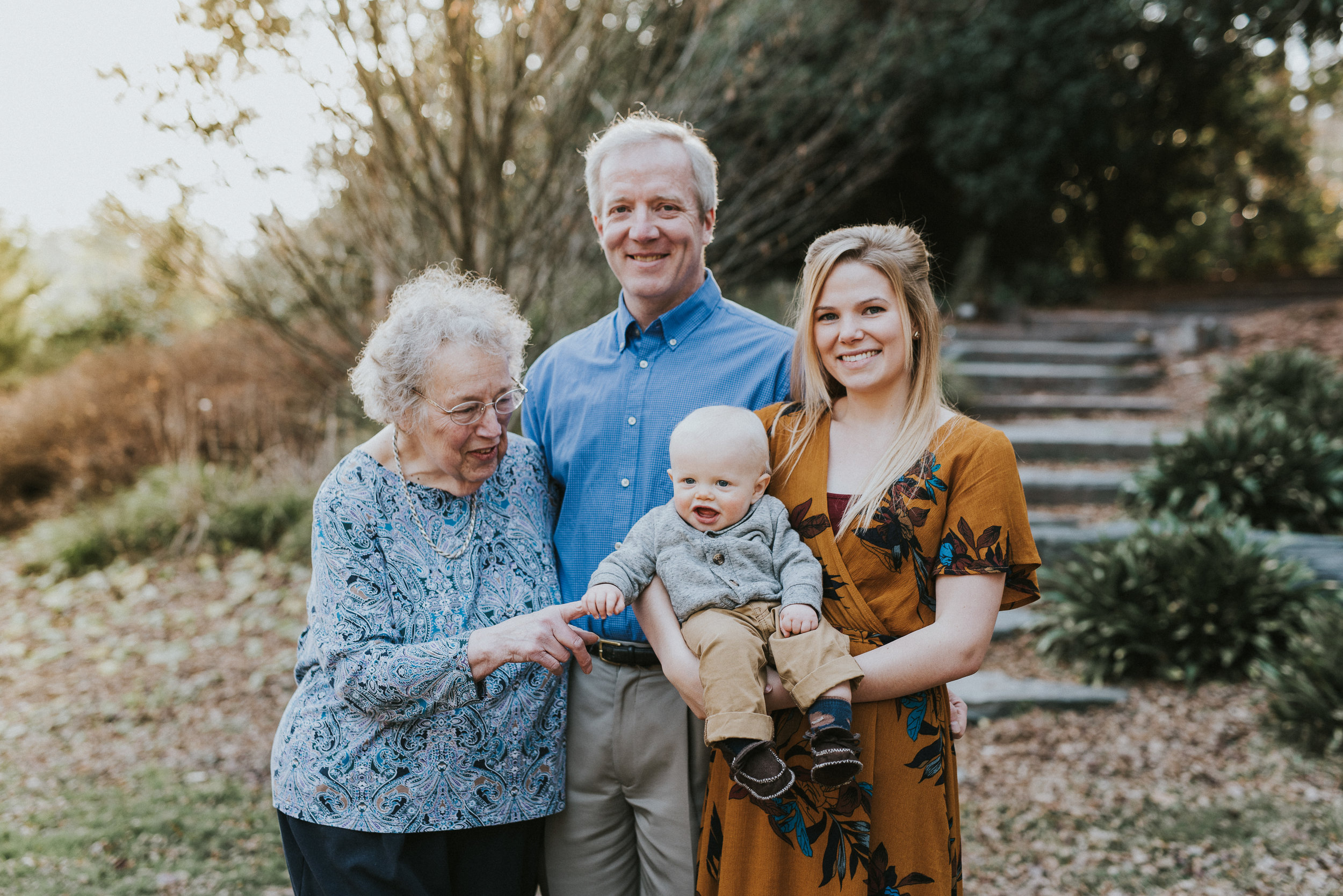 Duke Gardens, Durham North Carolina family portrait session.  Arianna Belle Photography is a North Carolina and Virginia based lifestyle photographer.  Affordable photographer in your area