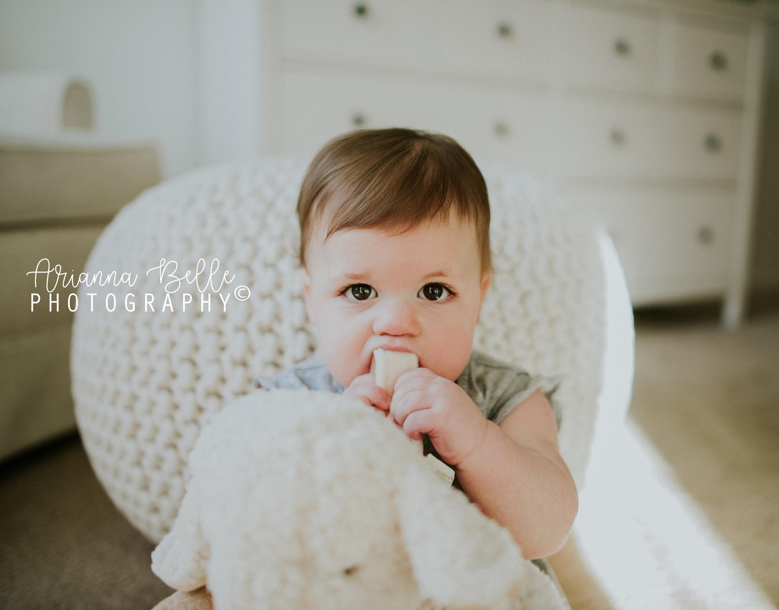 Big baby eyes