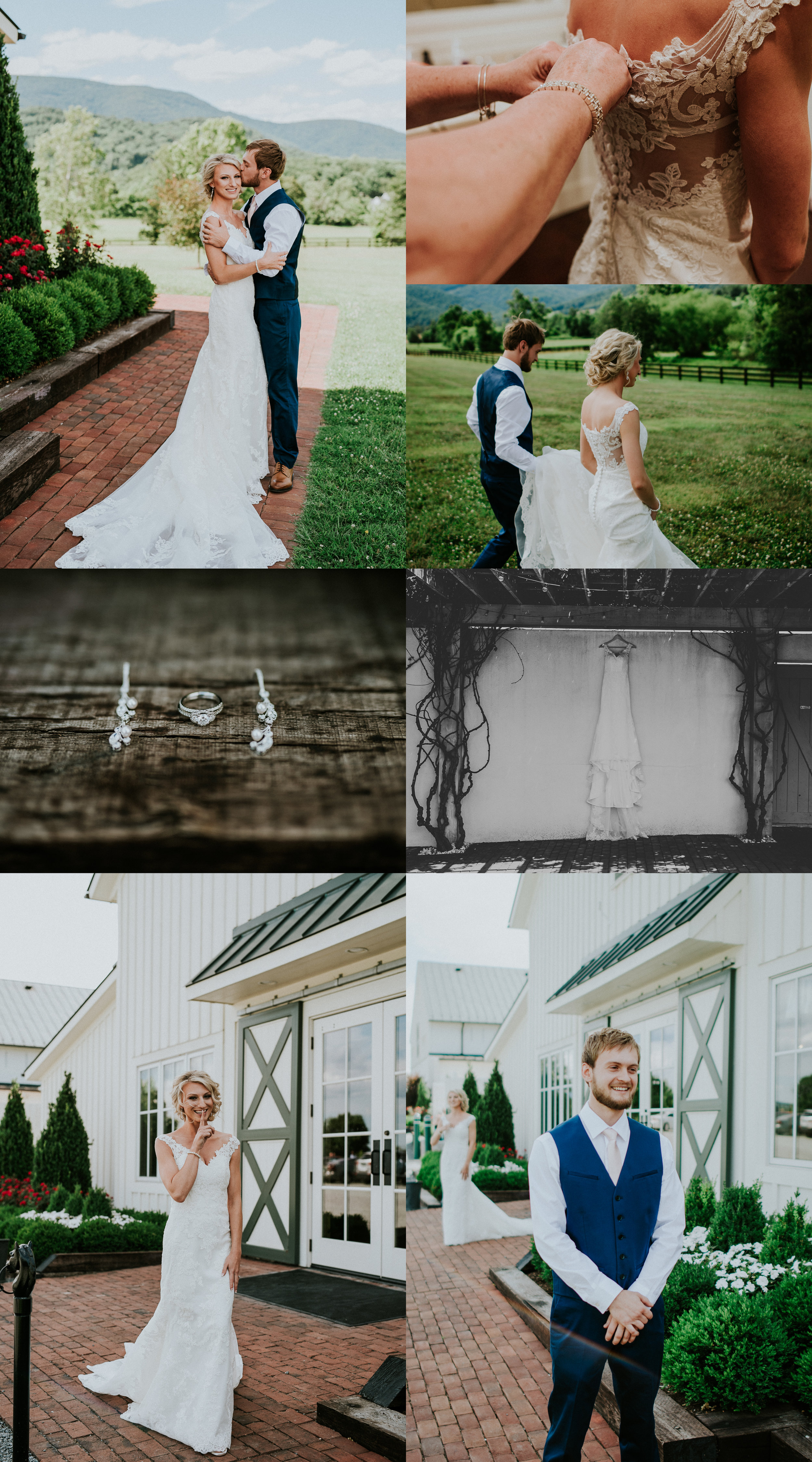 King Family Vineyard wedding