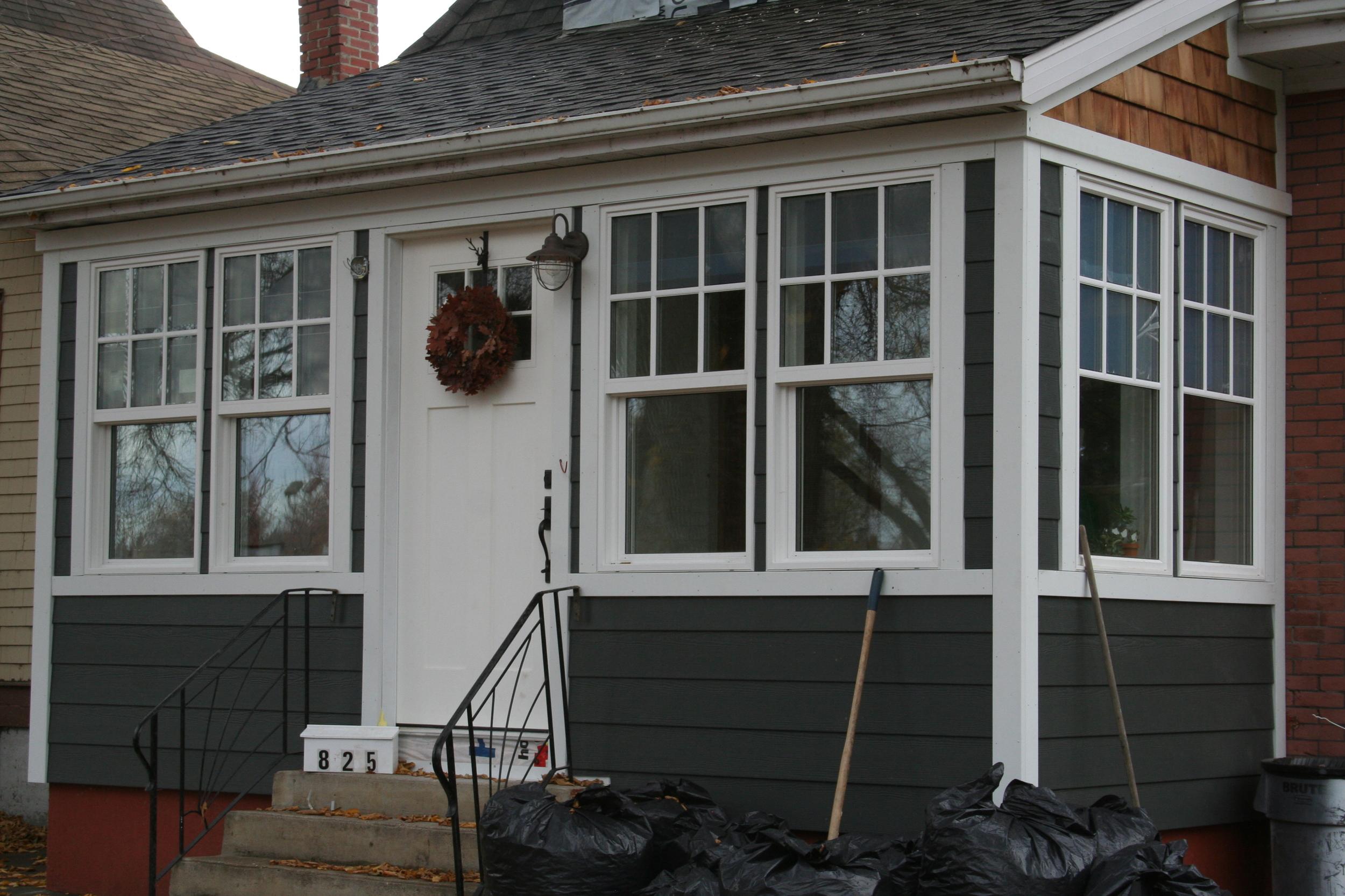 Saskatoon home renovation, siding, windows, custom contractor
