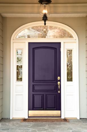 Doorway renovation