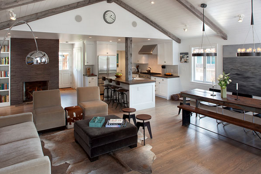 Open concepts make for a perfect entertaining area.