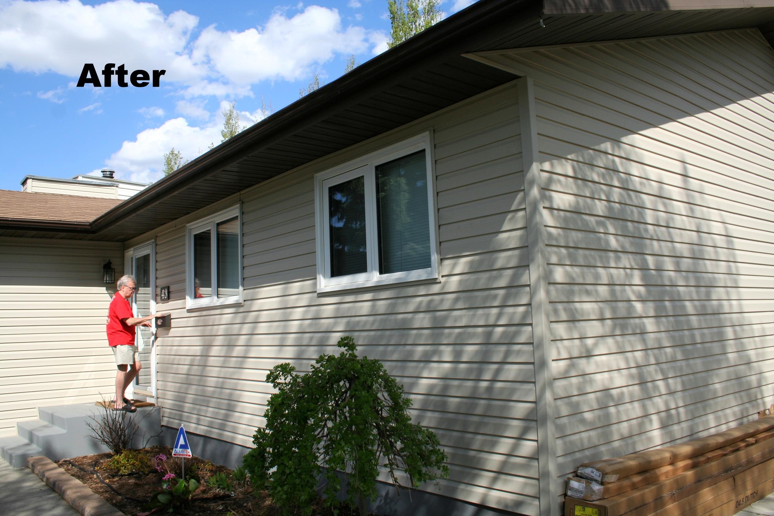 Siding saskatoon, exterior renovation, trusted contractor