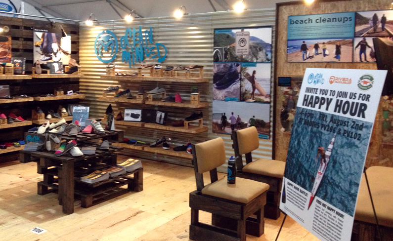 Ocean Minded   Tradeshow Booth