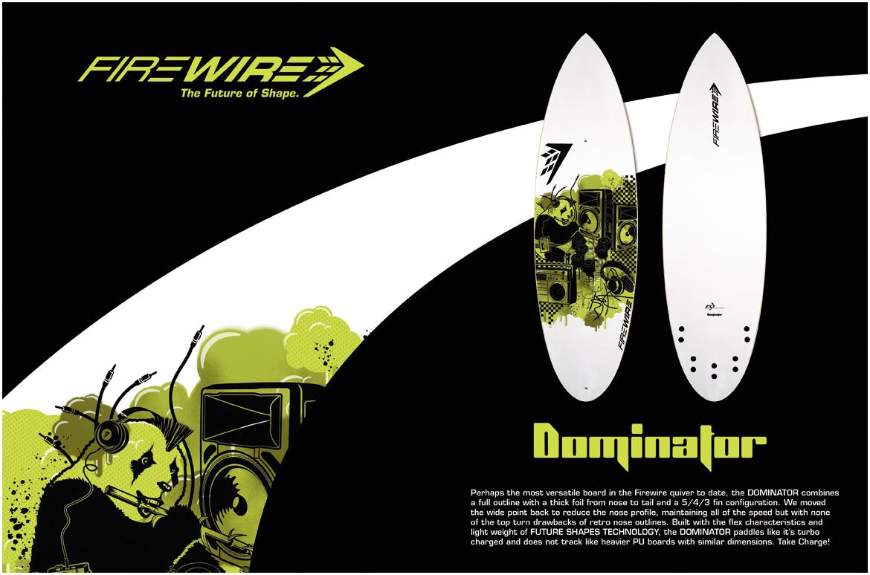 Firewire Surfboards   Advertising