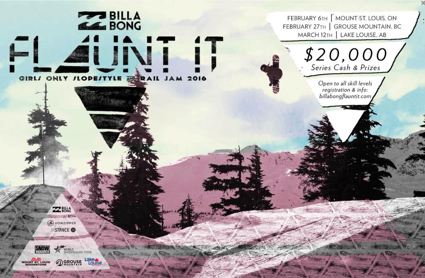 Billabong   Event Poster