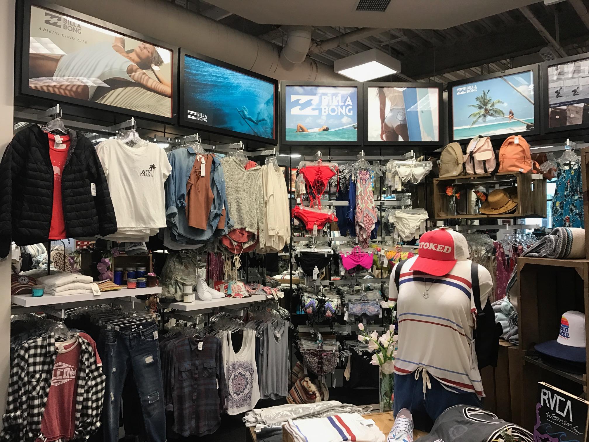 Billabong   In-Store