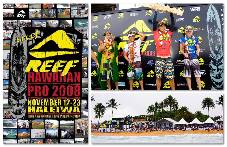 Reef   Hawaiian Pro 2008