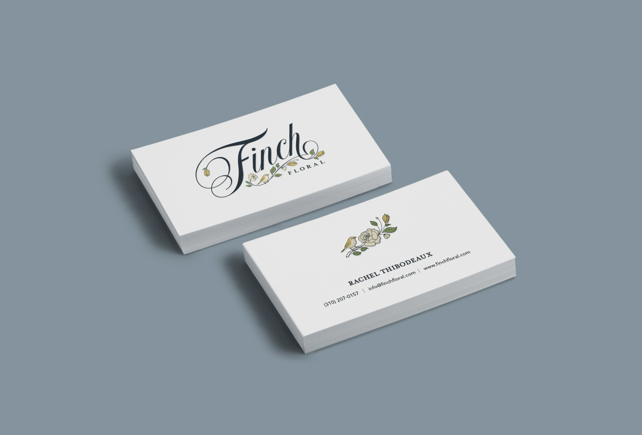 Finch Floral - Branding by Wink & Wonder