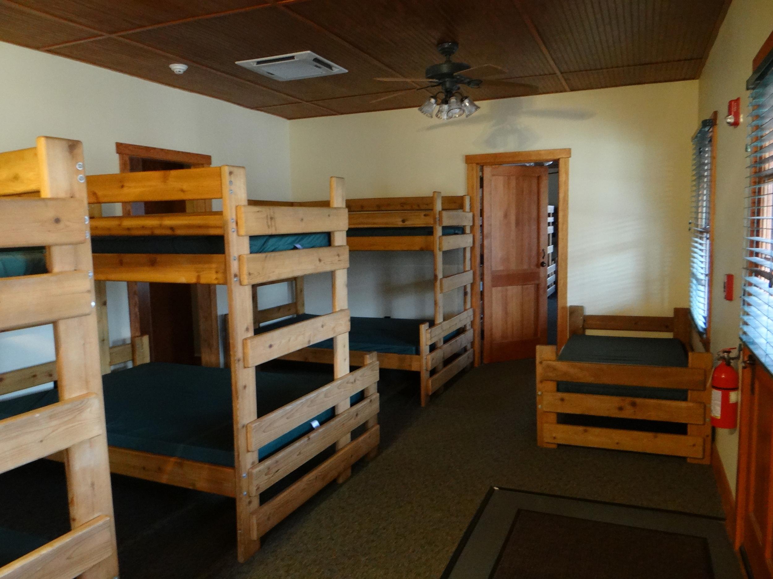 Petes Cabin Bedroom.JPG
