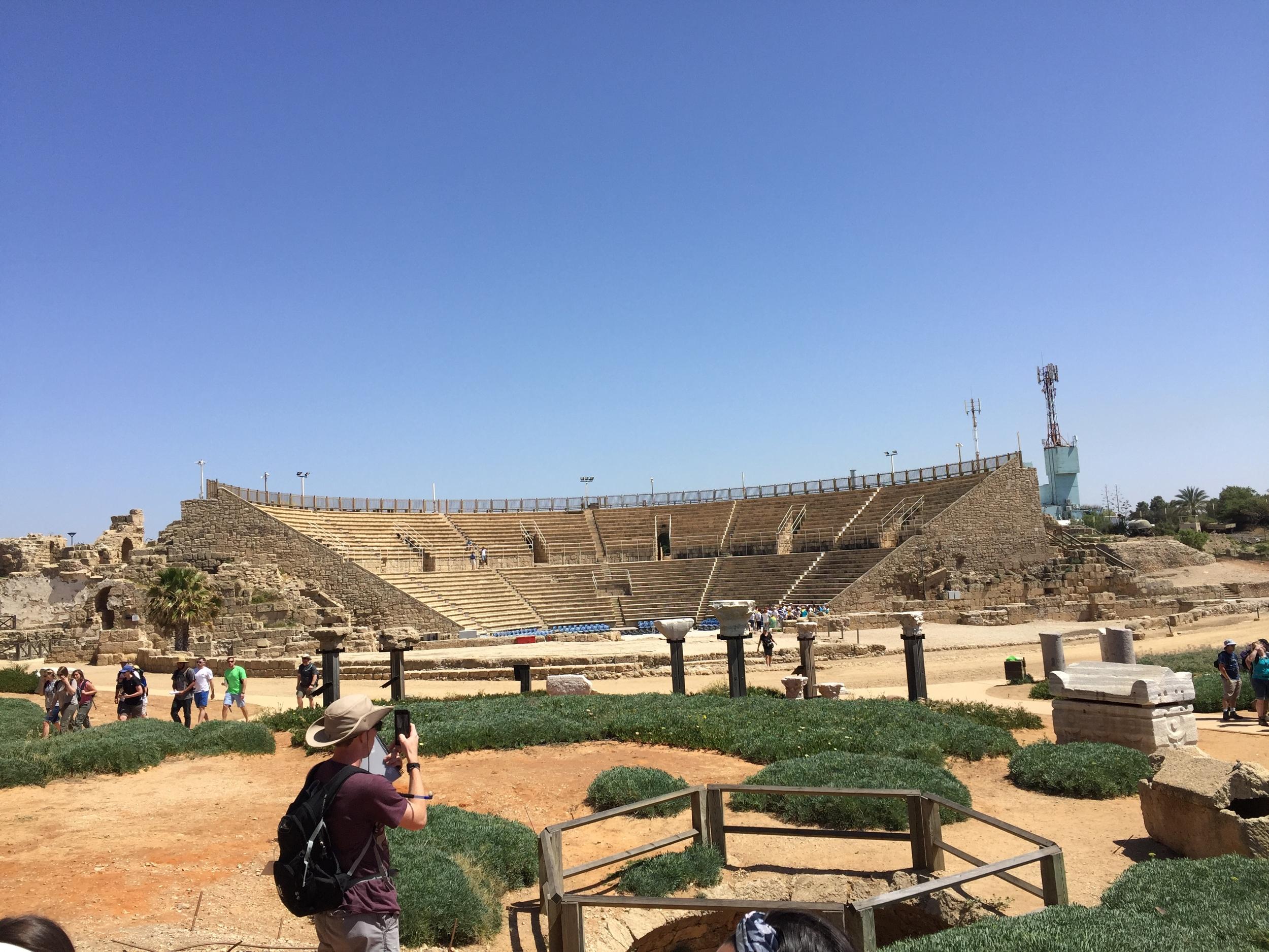 Theater in Cesarea