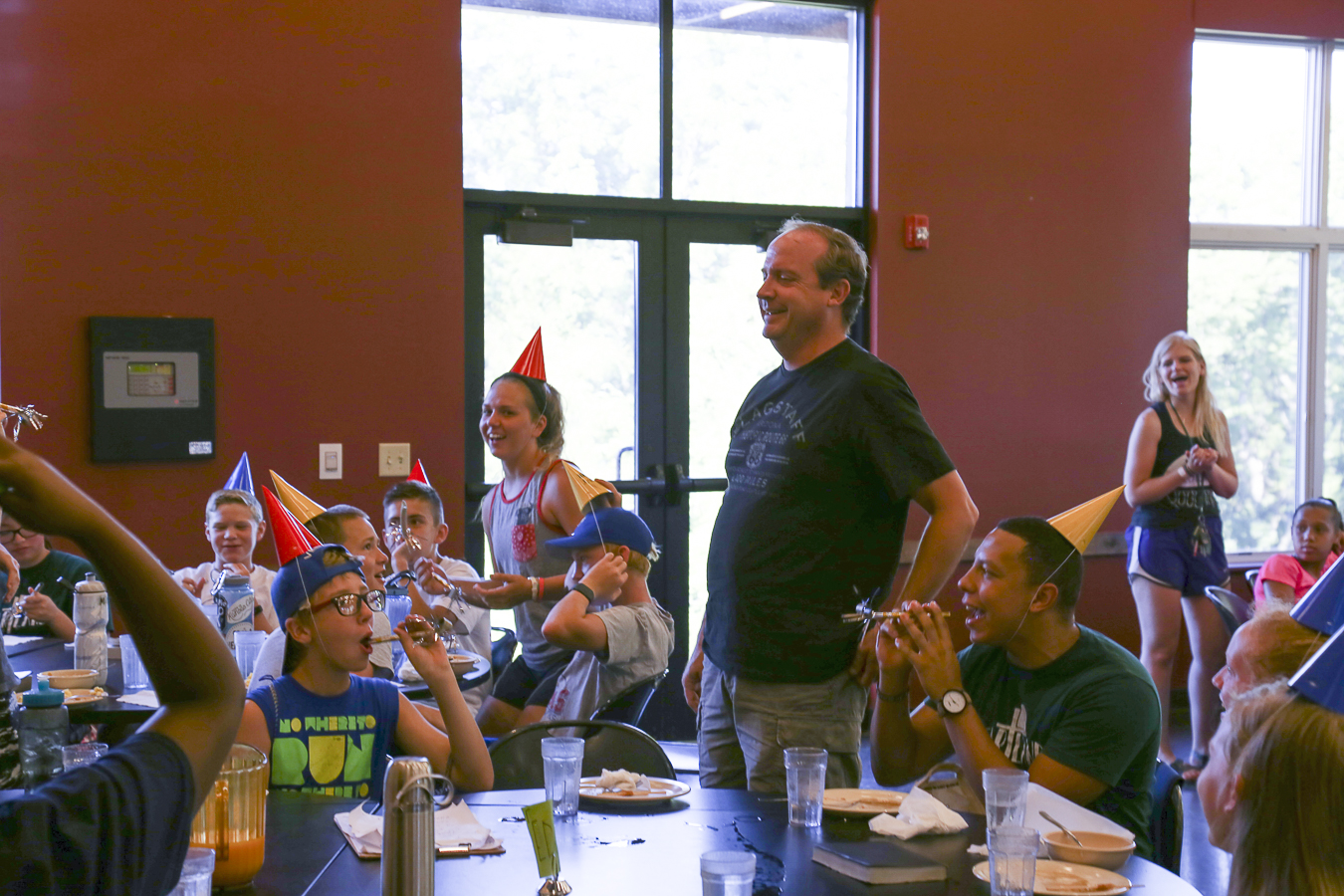 Our campers got the joy of celebrating Dan's birthday with him! Happy Birthday!