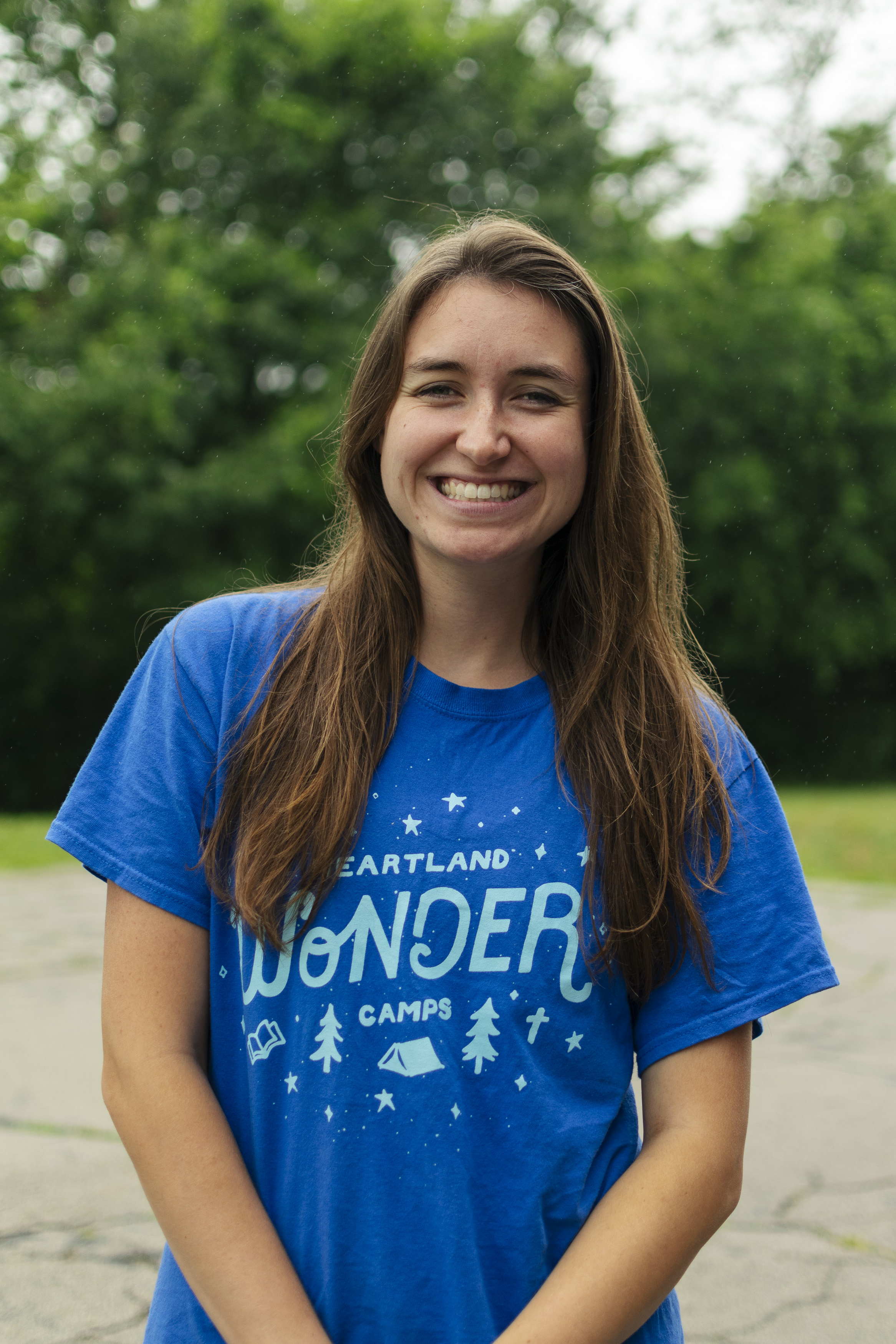 Julie Barthel is one of the Cornerstone Interns with Heartland Camps.