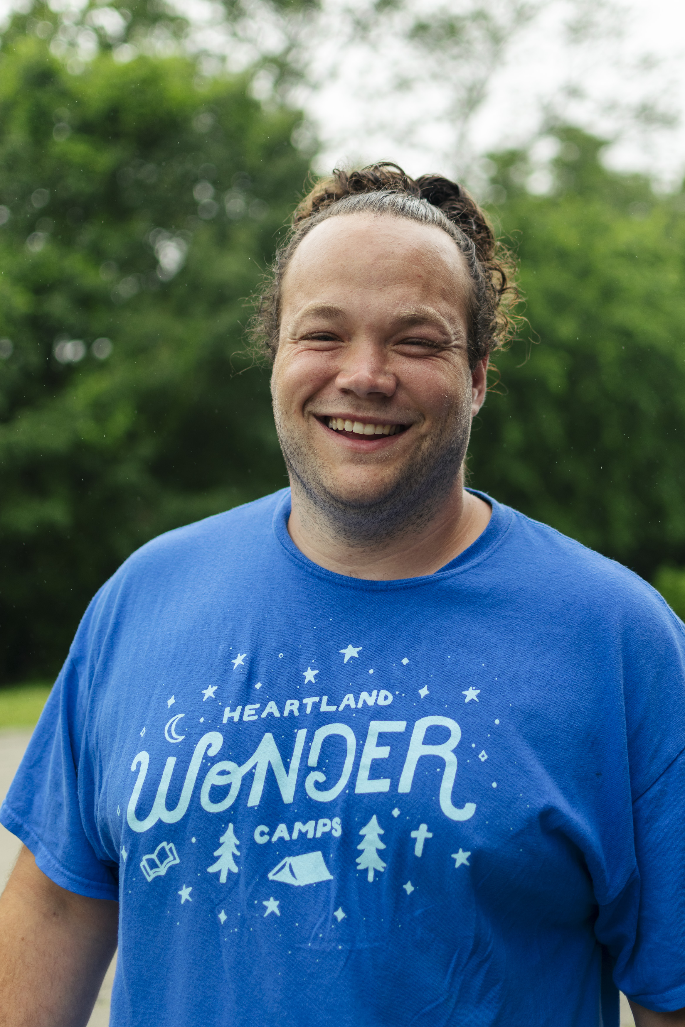 Drew Renollet is one of the Cornerstone Interns with Heartland Camps.