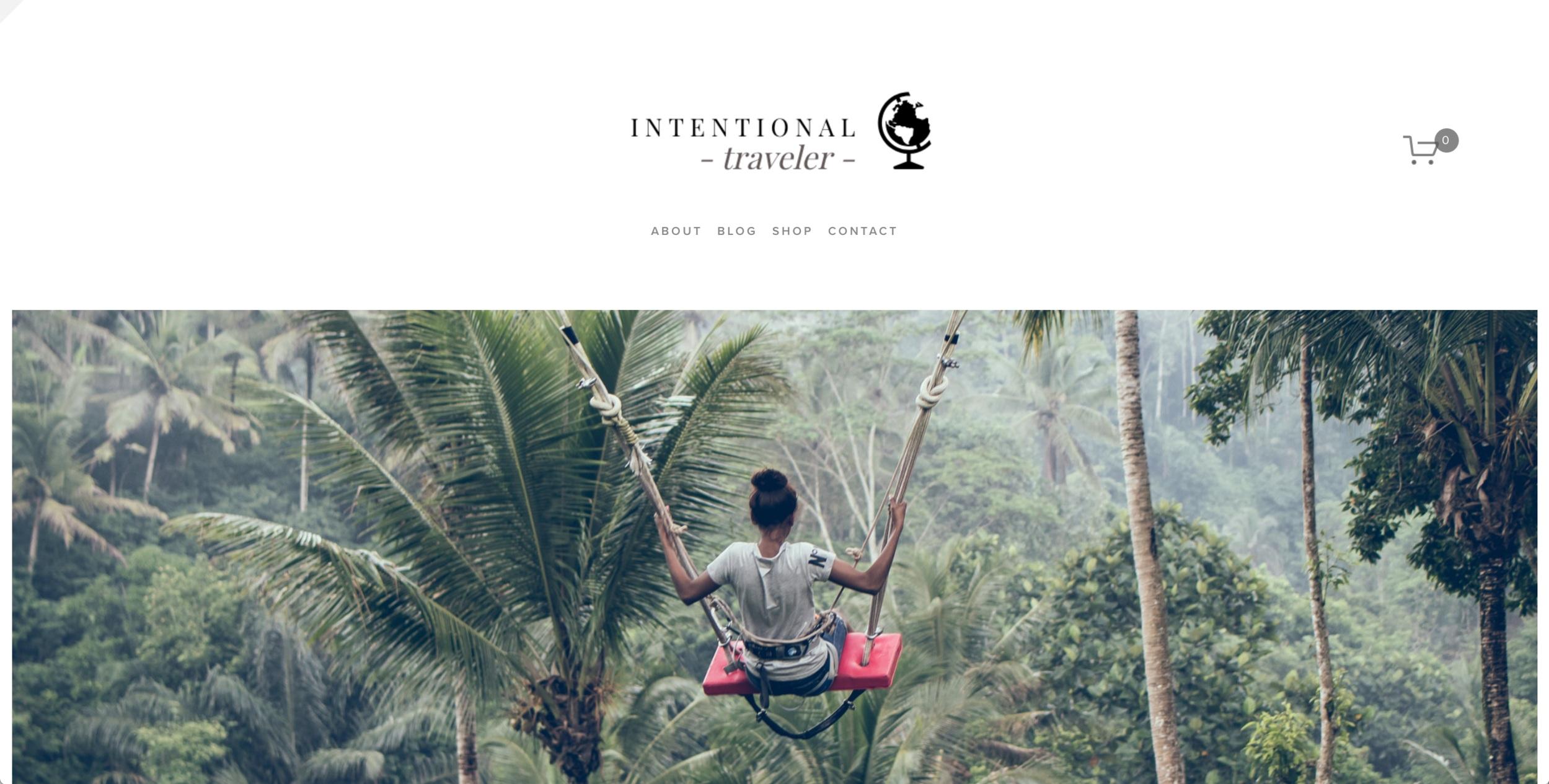 Intentional Traveler (Concept)