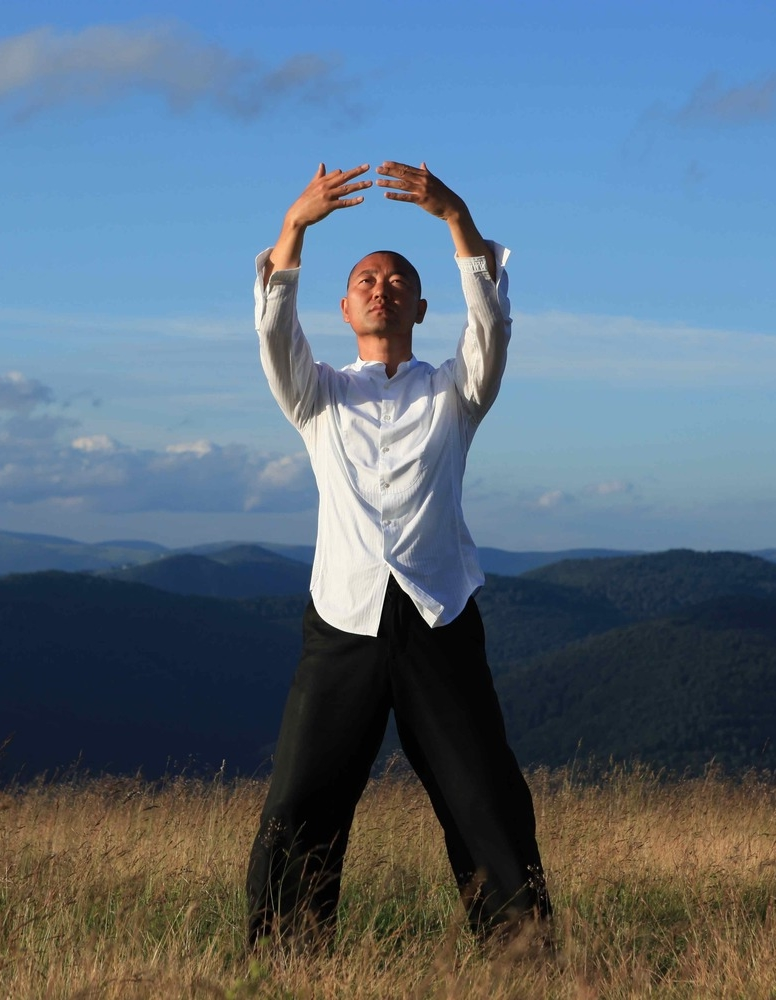 Meister Don Yon - Die QiGong-Übung: Das Himmelsauge öffnen.