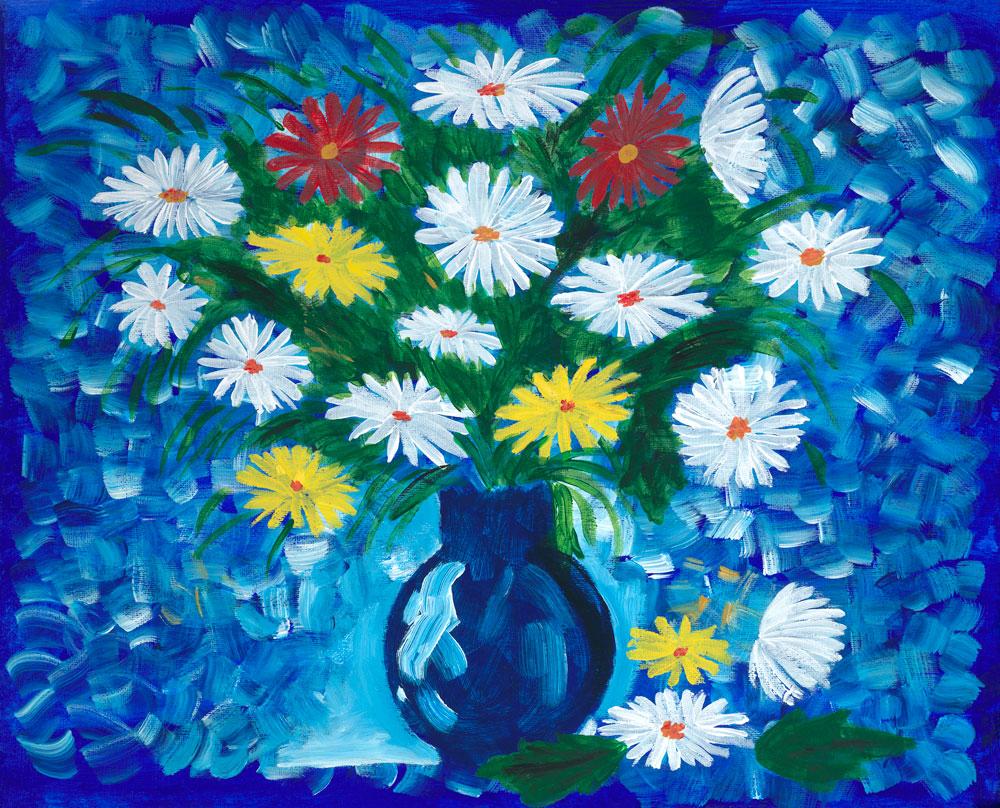 Flowers in a Blue Vase.jpg