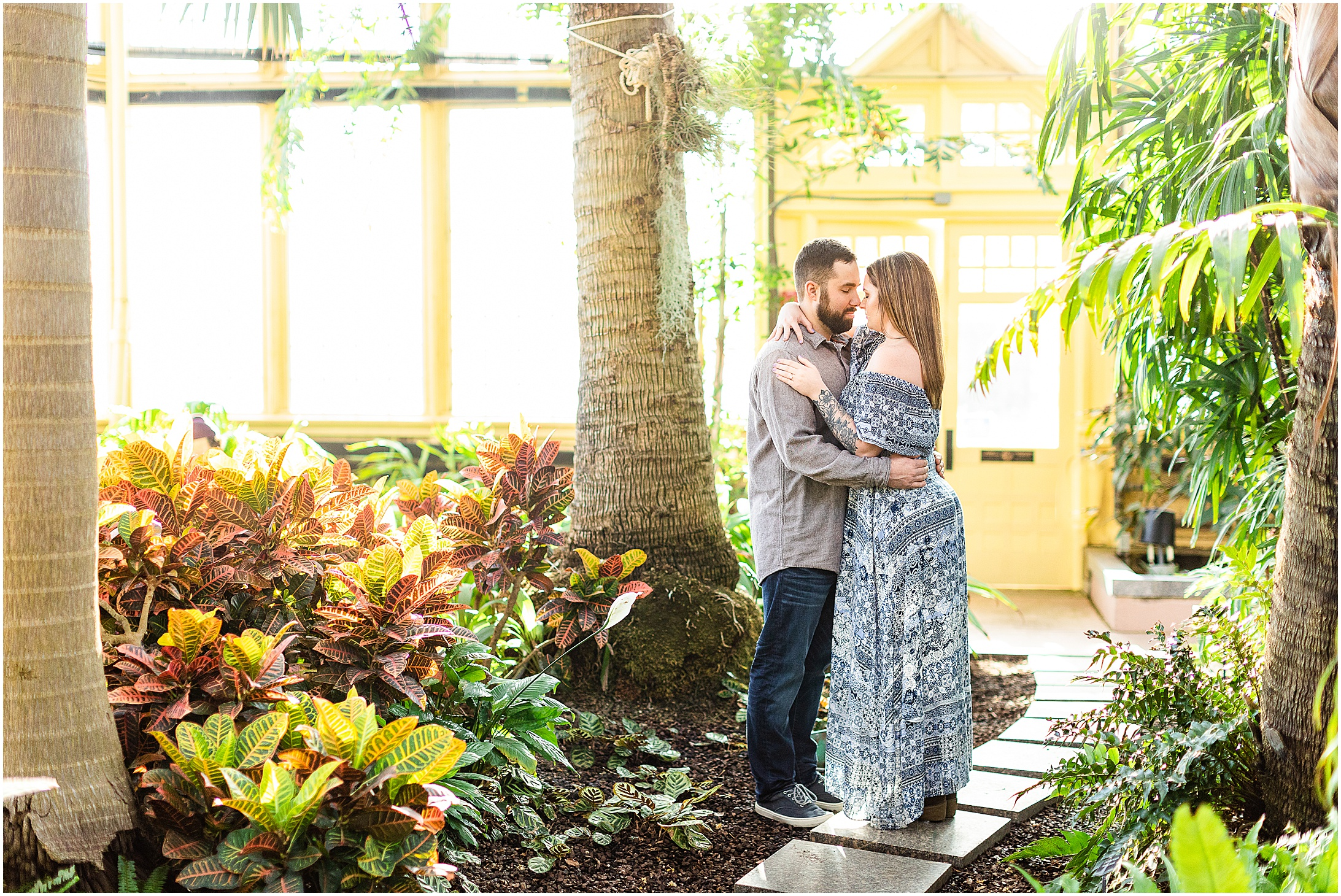 Jessica & Cody   Rawlings Conservatory Engagement Photos