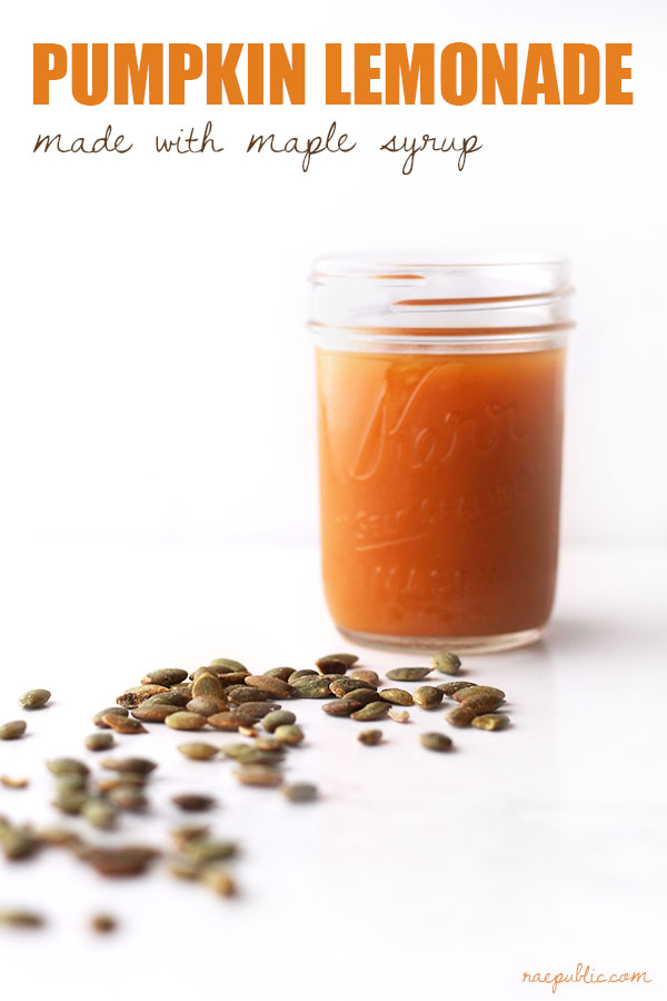 Easy vegan PUMPKIN LEMONADE that ALL pumpkin lovers will swoon over. However, if you're not a pumpkin fan you won't be a fan of this plant-based lemonade.