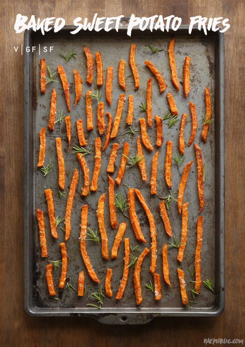 Easy baked sweet potato fries that are simpler to make than one would have thought.