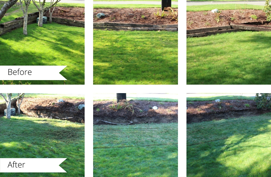 Chana Rae's DIY guide to removing any railroad tie retaining wall.