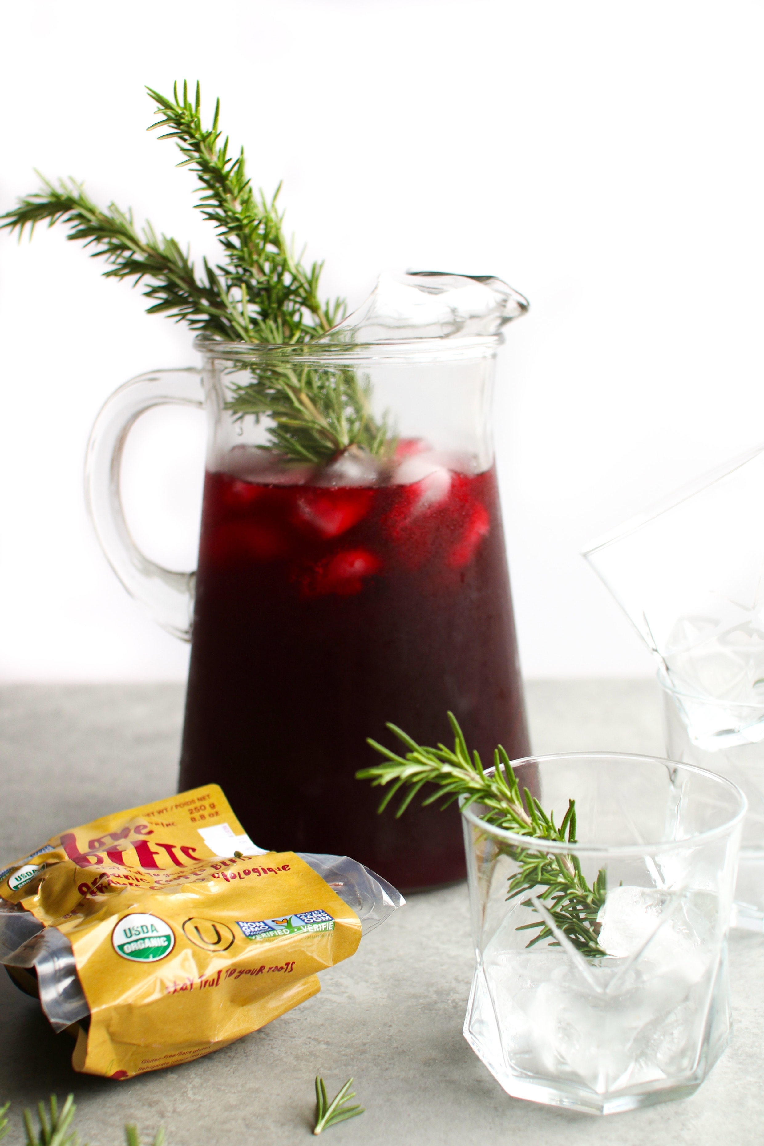 Bold Beet Lemonade perfect for Fall parties made with ready-to-eat Organic Love Beets.jpg