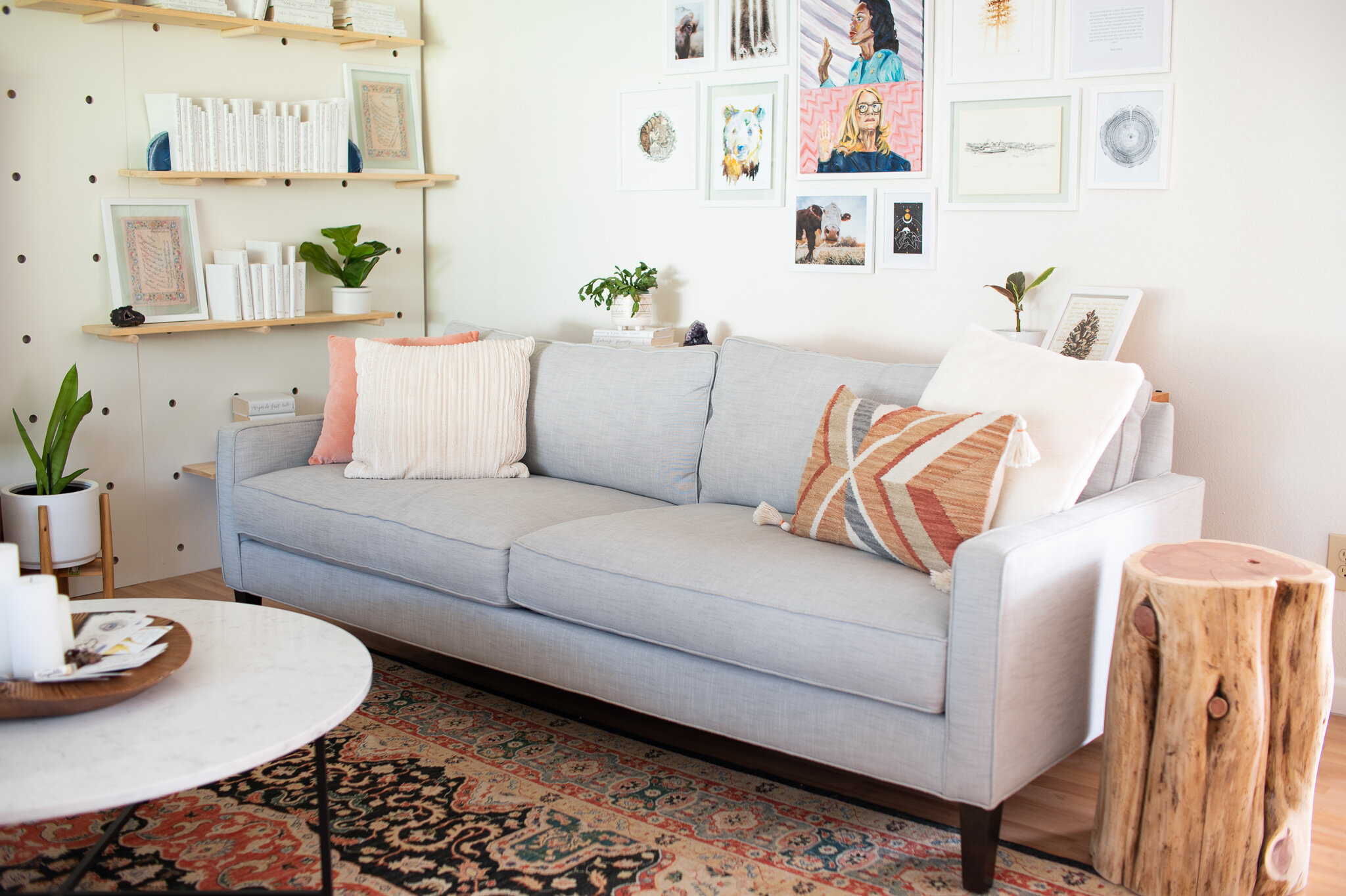 Sofas can include all sorts of different chemicals, from flame retardants to using foam made from petroleum. When it's time to renew your sofa opt for one made in county, by hand, using real materials including solid wood, steel springs, copy foam, and cotton. Minimuzing toxins found in ones home can make a huge impact on health and wellness.